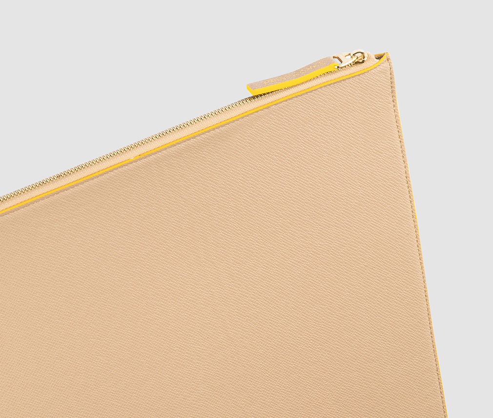 Laptop Case Beige/Yellow 10-12 inch