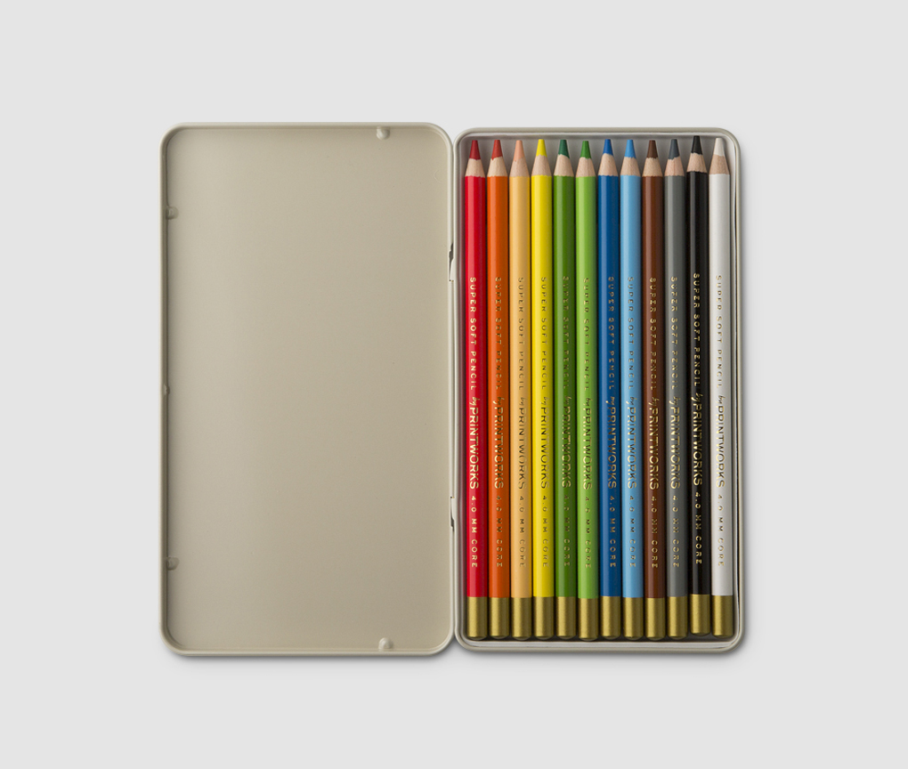12 Colour pencils - Classic