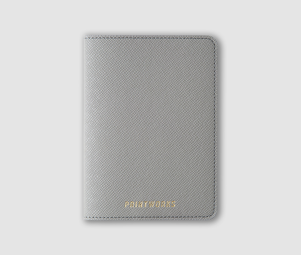 Passport holder - Dove Grey