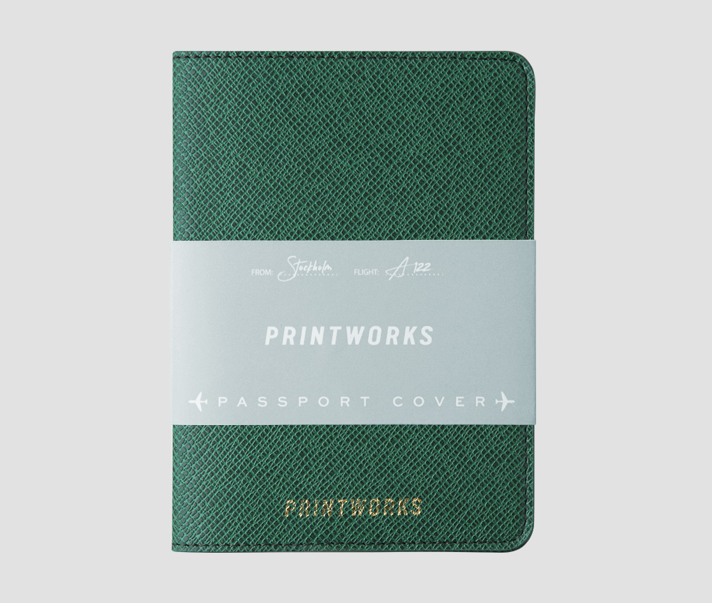 Passport holder - Green