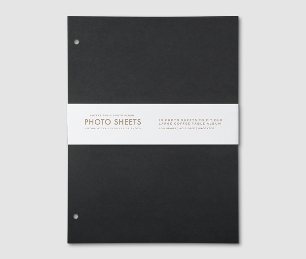 Photo Album - 10-pack refill paper (L)