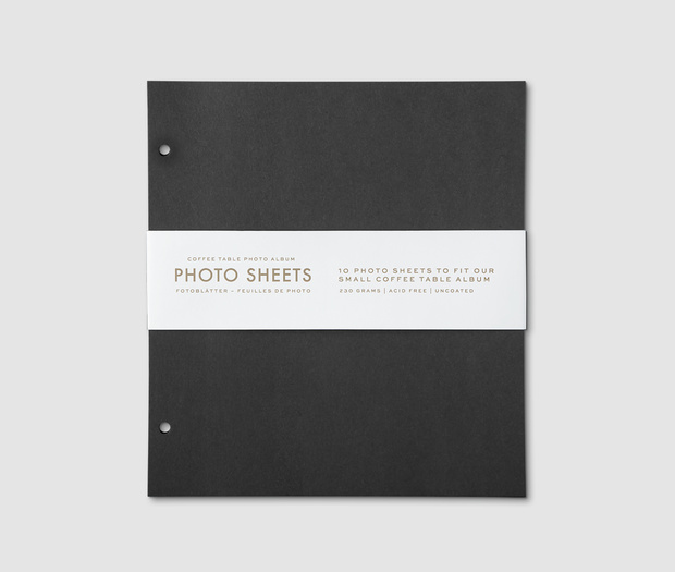 Photo Album - 10-pack Refill Paper (S)