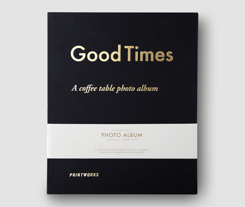 Photo album - Good Times Black (L)
