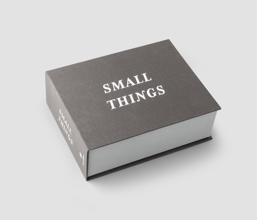 Storage box - Small things (Grey)