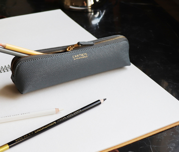 Pencil Case - Grey Small