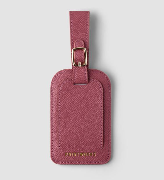 Luggage tag - Pink