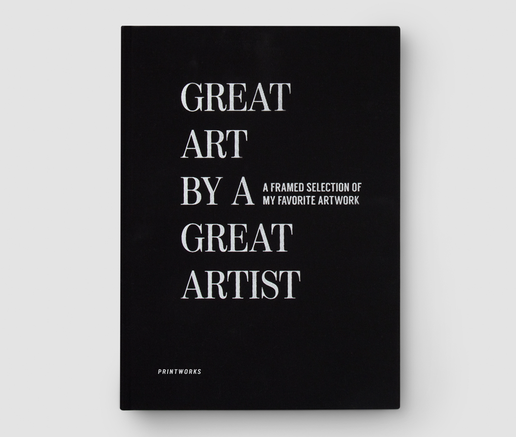 Frame book - Great Art, Black
