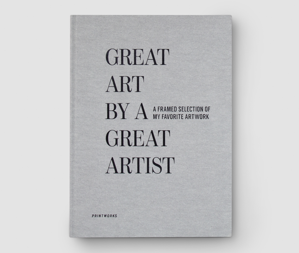 Frame book - Great Art, Grey