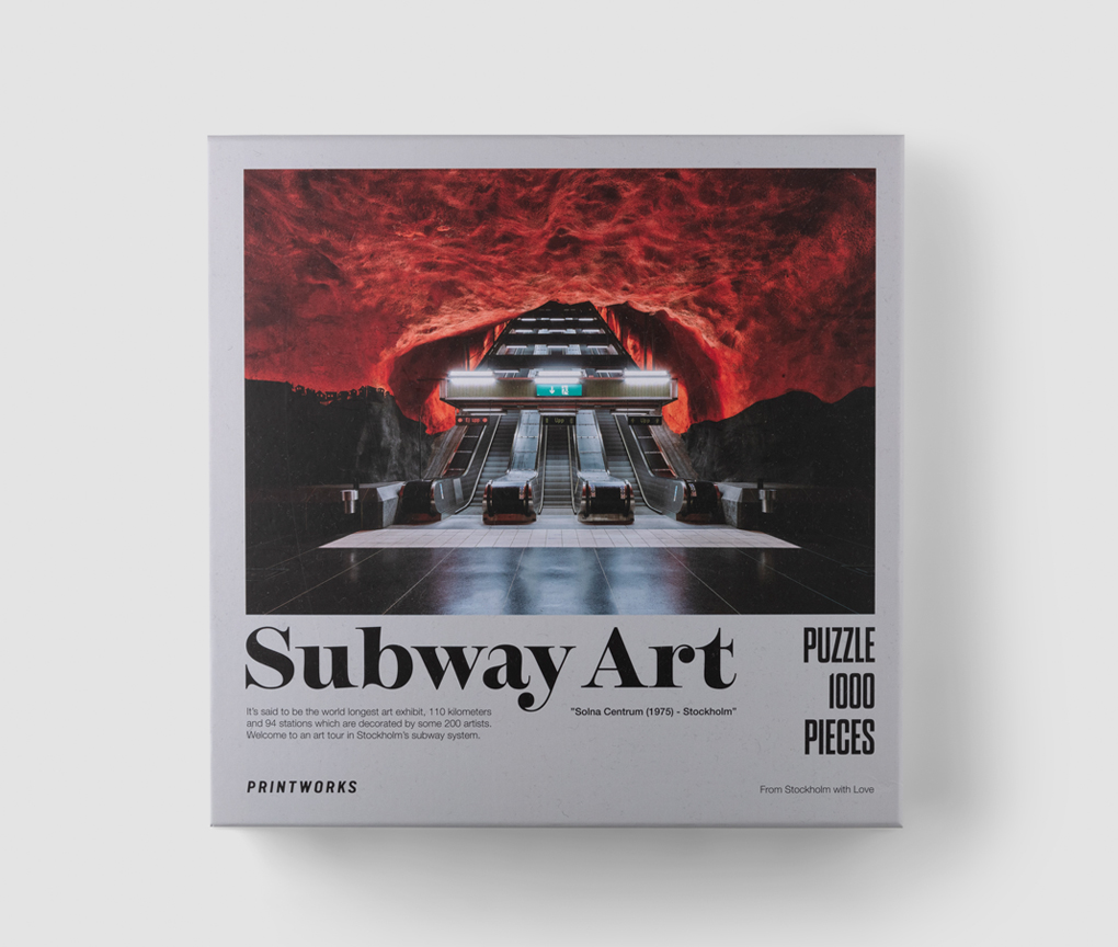 Pussel - Subway Art Fire