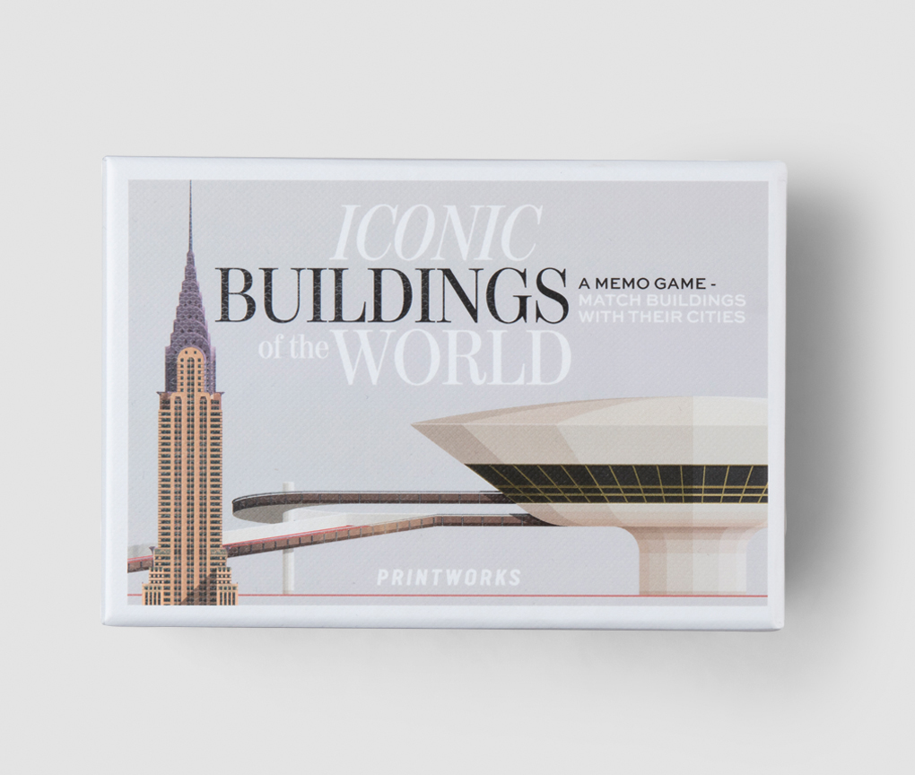 Memo Game - Iconic buildings